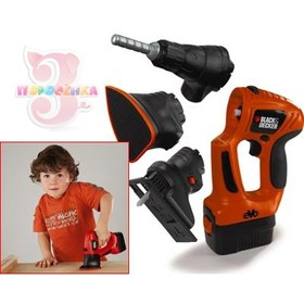 Smoby 500167 Электроинструмент BLACK and DECKER 4 в 1, со звуком